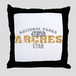 Arches National Park Utah Throw Pillow
