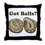 Got Balls? Throw Pillow