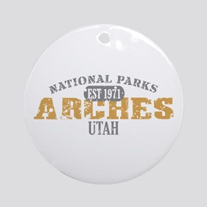 Arches National Park Utah Ornament (Round)