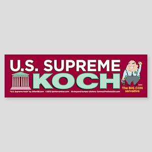 U.S. Supreme Koch (Bumper Sticker)