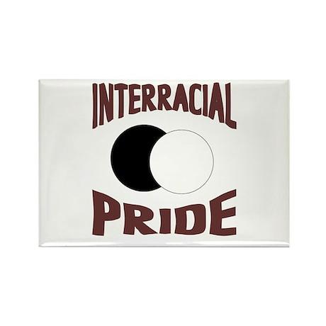 Interracial/Biracial Pride Rectangle Magnet (100 p