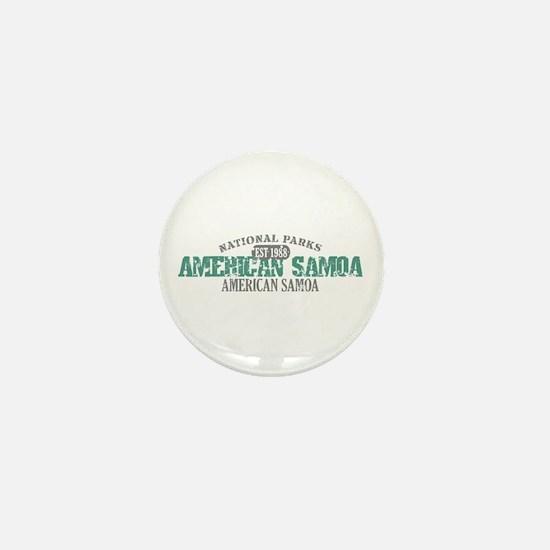 American Samoa National Park Mini Button
