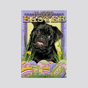 Easter Egg Cookies - Pug Rectangle Magnet