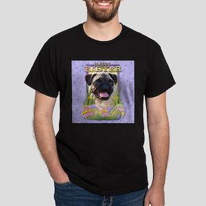 Easter Egg Cookies - Pug Dark T-Shirt