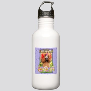 Easter Egg Cookies - Poodle Stainless Water Bottle