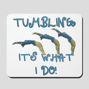 Tumbling Gymnast Mousepad