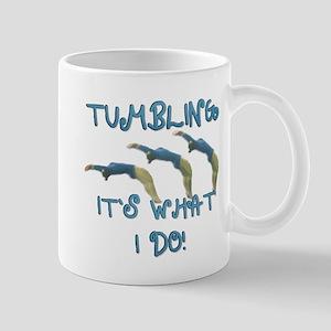 Tumbling Gymnast Mug