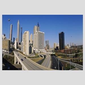 Skyscrapers in a city, Cityscape, Atlanta, Georgia