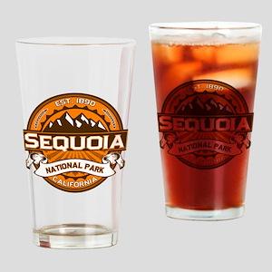 Sequoia Pumpkin Drinking Glass