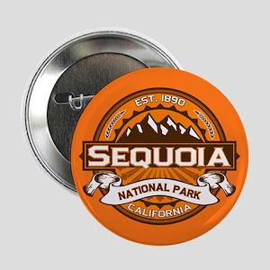 """Sequoia Pumpkin 2.25"""" Button"""