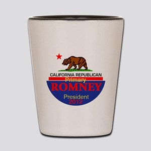 Romney CALIFORNIA Shot Glass