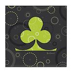 Lucky Shamrock Tile Coaster
