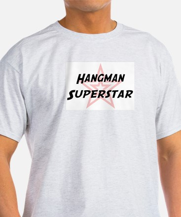 Hangman Superstar Ash Grey T-Shirt