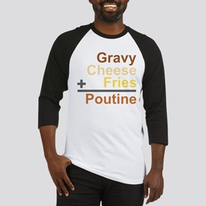 The Poutine Equation Baseball Jersey