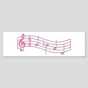 """Pink """"Rue's Whistle"""" Sticker (Bumper)"""
