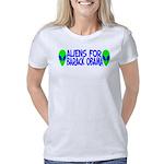 aliensforbarackobama Women's Classic T-Shirt