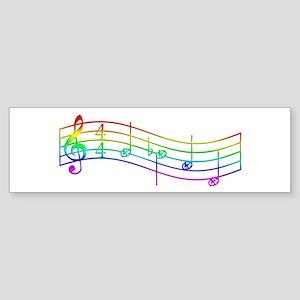 "Rainbow ""Rue's Whistle"" Sticker (Bumper)"