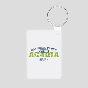 Acadia National Park Maine Aluminum Photo Keychain
