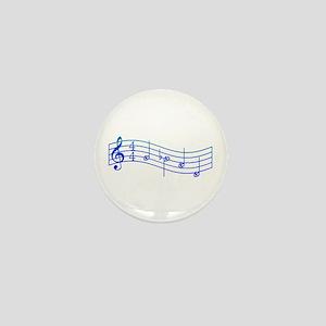 "Mockingjay Blue ""Rue's Whistle"" Mini Button"