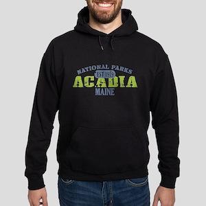 Acadia National Park Maine Hoodie (dark)