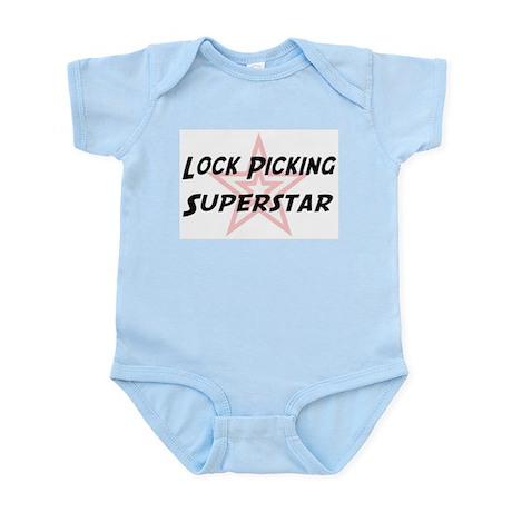 Lock Picking Superstar Infant Creeper