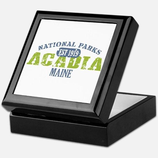 Acadia National Park Maine Keepsake Box