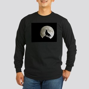 Lone Wolf Long Sleeve Dark T-Shirt