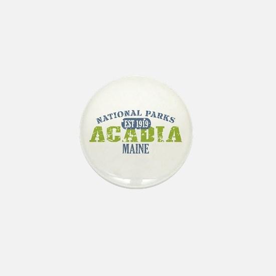 Acadia National Park Maine Mini Button