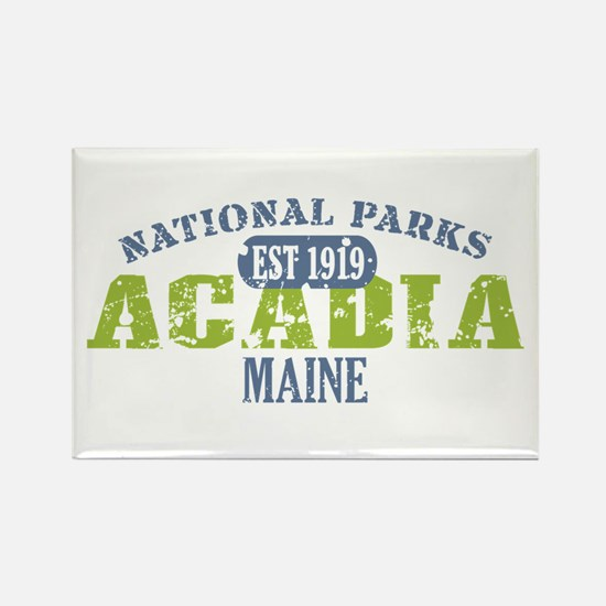 Acadia National Park Maine Rectangle Magnet (10 pa