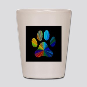 PAW PRINT Shot Glass
