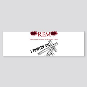 REM Carry Your Cross Daily Sticker (Bumper)
