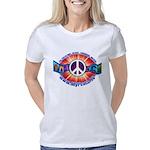 PEACEtvSHIRTTRANSPdefineco Women's Classic T-Shirt