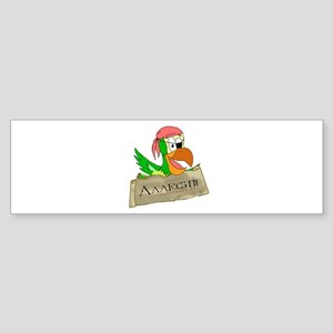 Parrots of the Caribbean Bumper Sticker