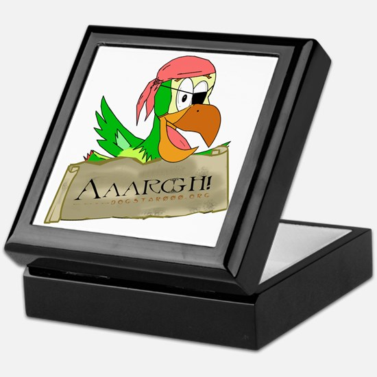 Parrots of the Caribbean Keepsake Box