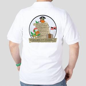 Parrots of the Caribbean Golf Shirt