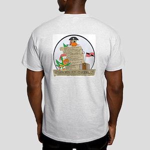 Parrots of the Caribbean Ash Grey T-Shirt