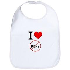 I Heart Stop Kony Bib