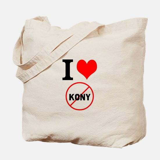 I Heart Stop Kony Tote Bag
