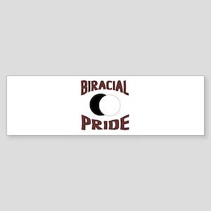 Biracial Pride Bumper Sticker