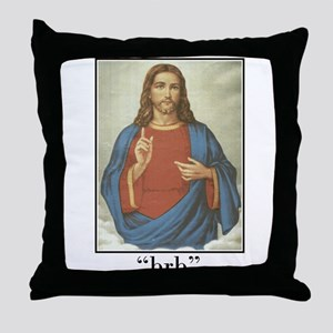 BRB JESUS (BE RIGHT BACK) Throw Pillow