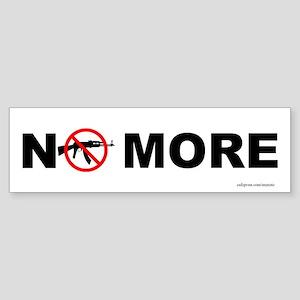 NO MORE Sticker (Bumper 50 pk)
