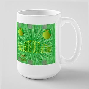 Large Mug Hebrew Word for Apple