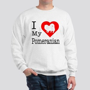 I Love My Pomeranian Sweatshirt