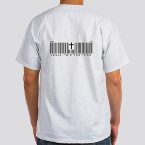JESUS BARCODE Light T-Shirt