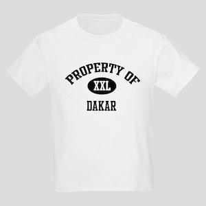 Property of Dakar Kids T-Shirt