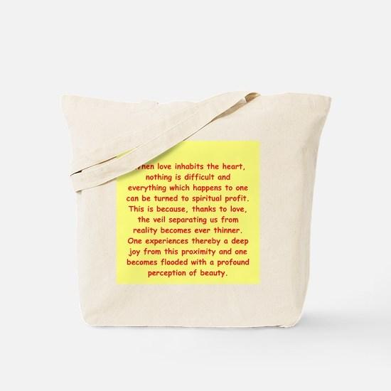 Sufi Sayings Tote Bag