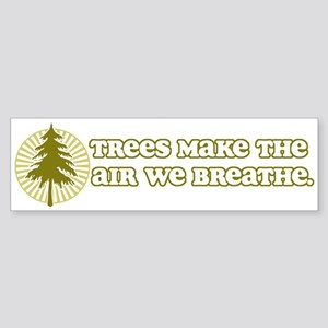 Trees Make Air Bumper Sticker