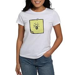 Lightbulb Idea Women's T-Shirt
