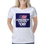 Button_CheneySatan_1 Women's Classic T-Shirt