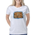 Pi_45 Treasure Map (10x10  Women's Classic T-Shirt